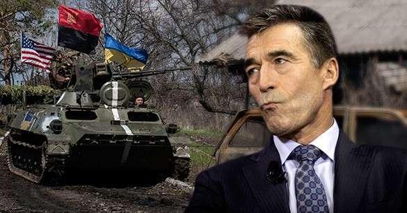 Расмусен: Пусть россиянам больно - мы будем давить, чтобы они умирали за демократию. Андерс фог Расмуссен