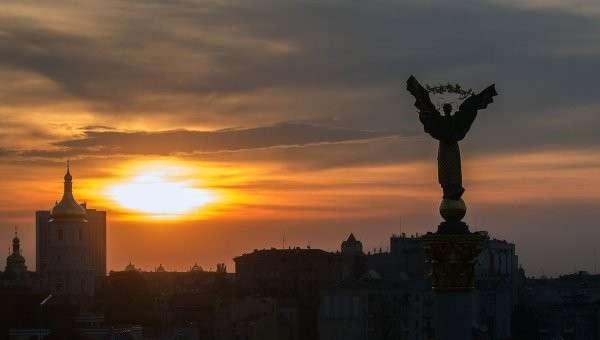 Площадь Независимости в Киеве. Архив
