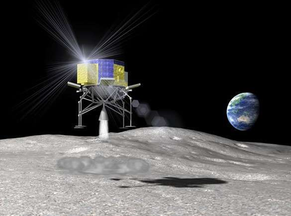 Япония намерена провести беспилотный полет на Луну в 2018 году. Япония запустит беспилотник на Луну