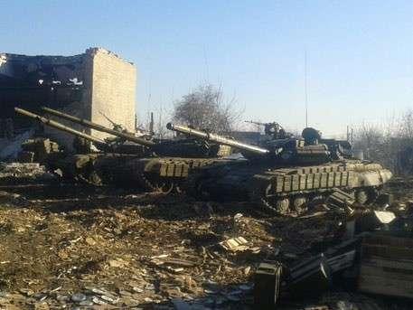 ДНР возвращает на фронт тяжелое вооружение