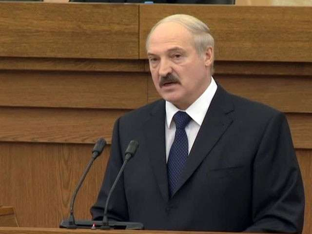 Лукашенко: «Мы будем с Россией»
