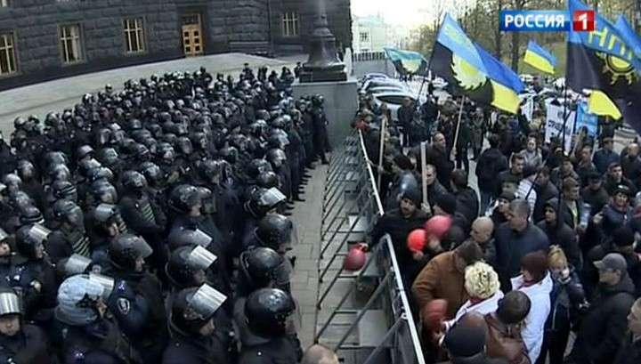Шахтёрский Майдан не достучался до киевской жидо-власти