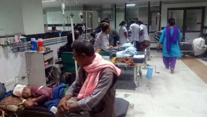 В Непале от землетрясения погибло более 5 тысяч человек