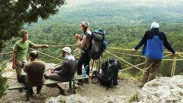 Туристы в Крыму. Архивное фото