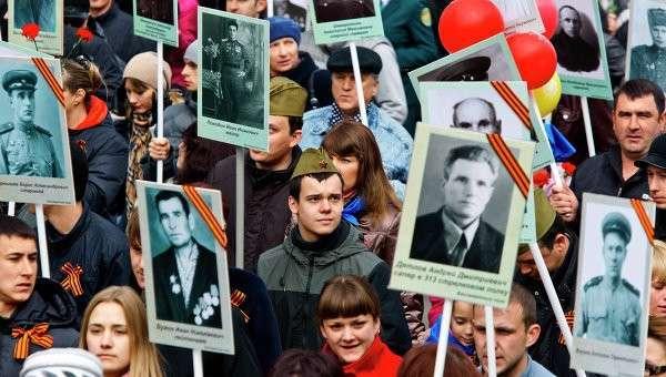 Военный парад Победы в ВОВ в регионах