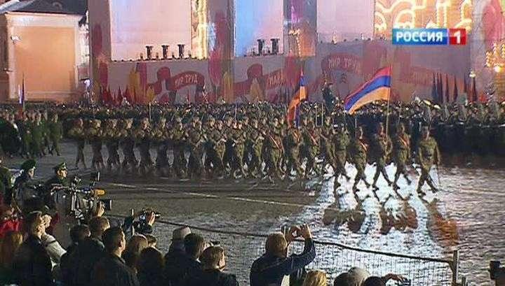 В России проходят репетиции будущего парада