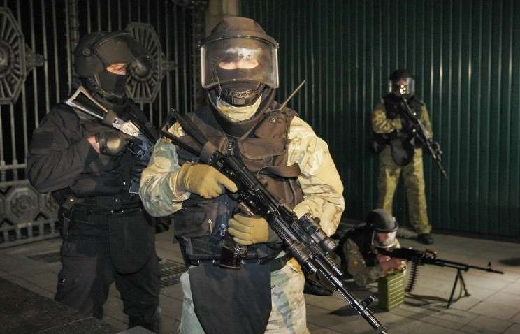 Неизвестный спецназ проводит операции против укро-карателей