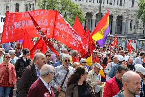 В Испании Первомай проходит мирно и весело