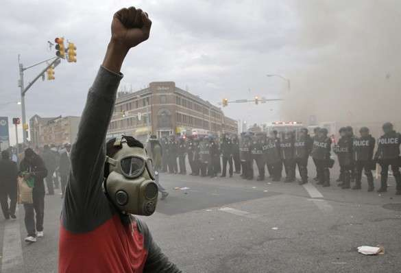 Америку призывают готовится к новым беспорядкам. беспорядки в США, Балтимор