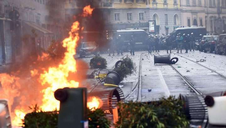 Милан зачем-то протестует против выставки ЭКСПО