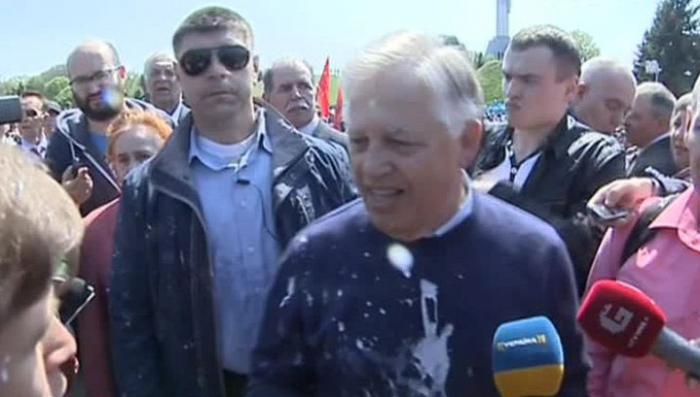 В Киеве нестандартно отметили 1 Мая