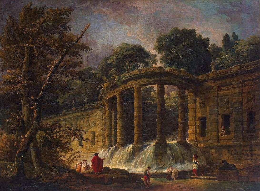 Павильон с каскадом (1767)