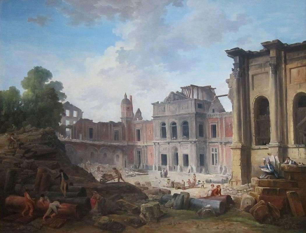 Снос замка Медон (1806)