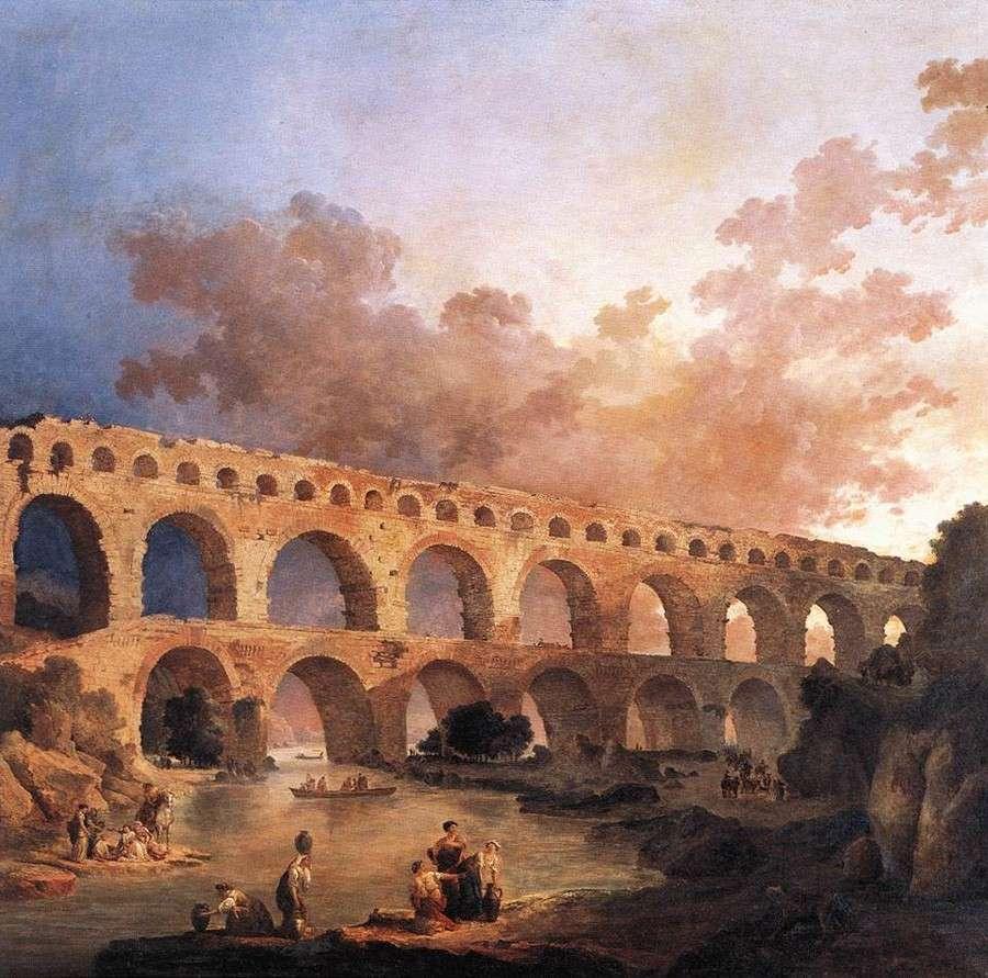 Пон-дю-Гар (1787)