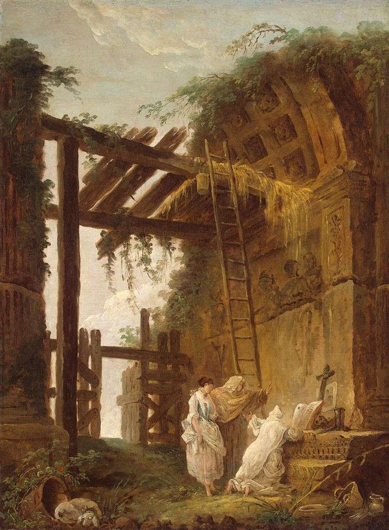 У отшельника (1775)