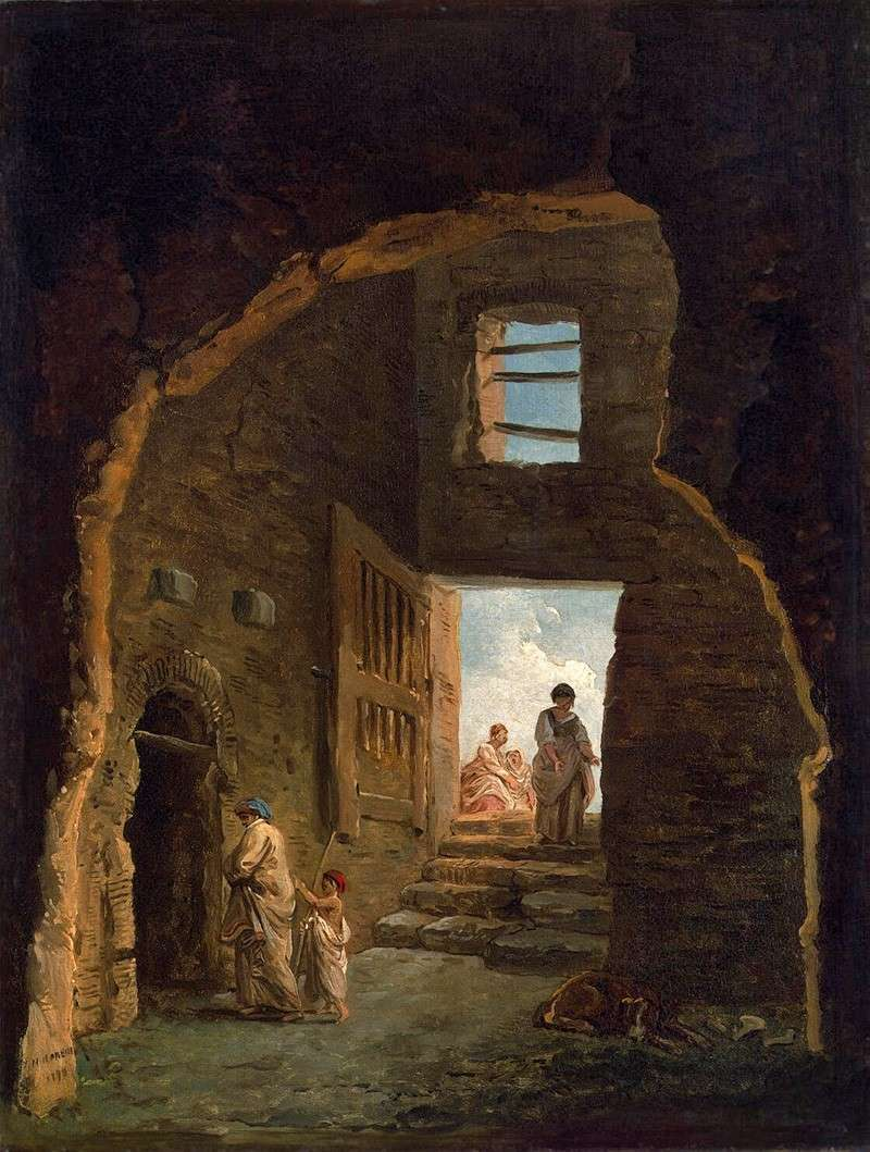 Жилые руины (1790)
