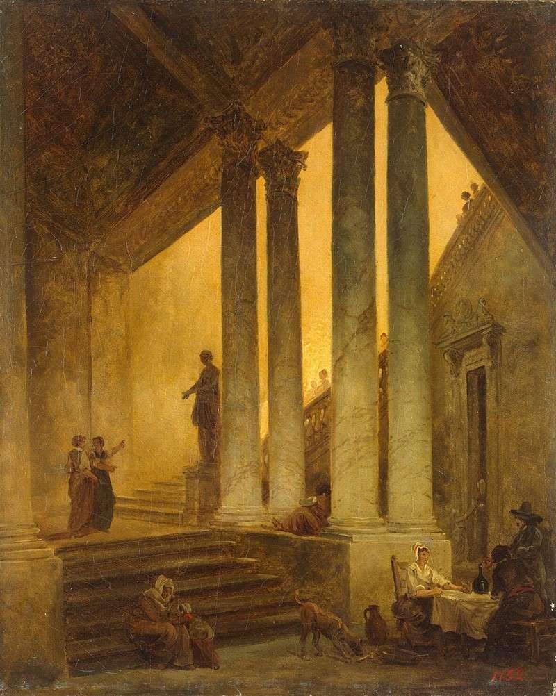 Лестница с колоннами (1774)