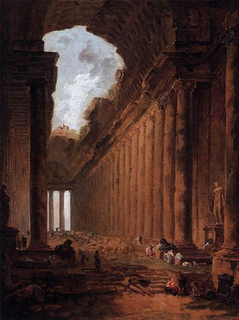 Руины Каприччио (1786)