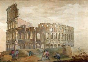 Тайны прошлых цивилизаций на картинах европейских художников 18 века. Часть 2