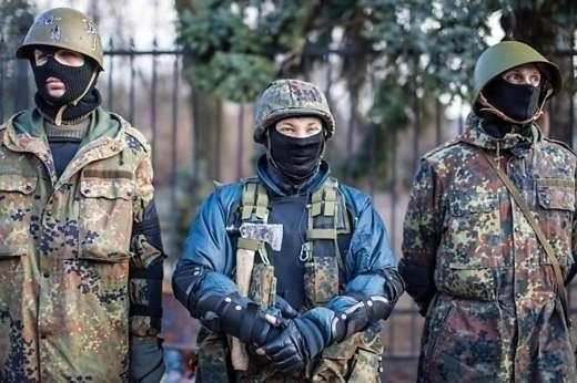 Киевские бандиты пытаются сколотить себе вооружённые банды