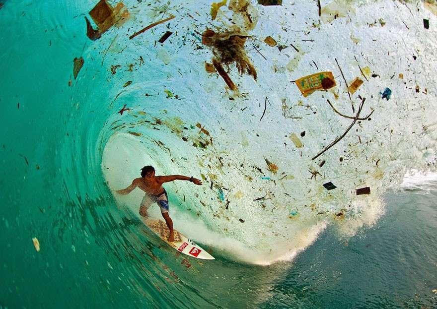 Волны мусора  мир, население, последствие, фотография