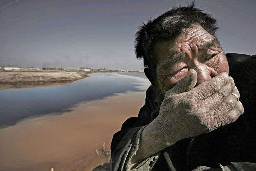 Желтая река в Китае мир, население, последствие, фотография