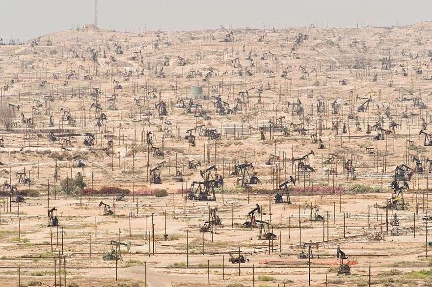 Нефтяные скважины мир, население, последствие, фотография