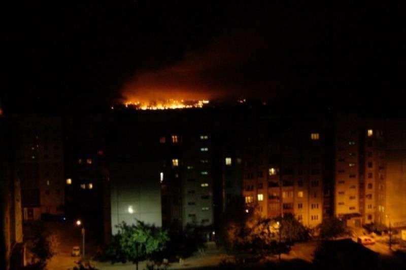 Украинская авиация обстреляла Донецк