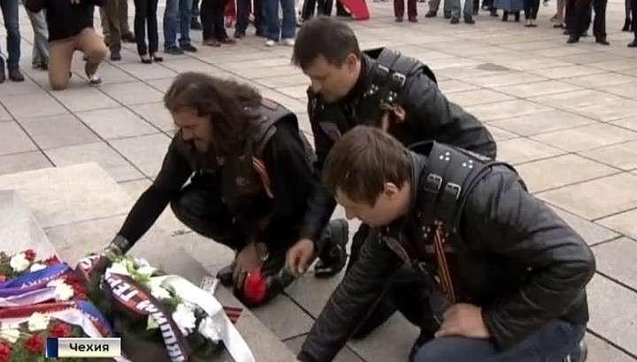 К «Ночным волкам» присоединились байкеры из Сербии и Македонии