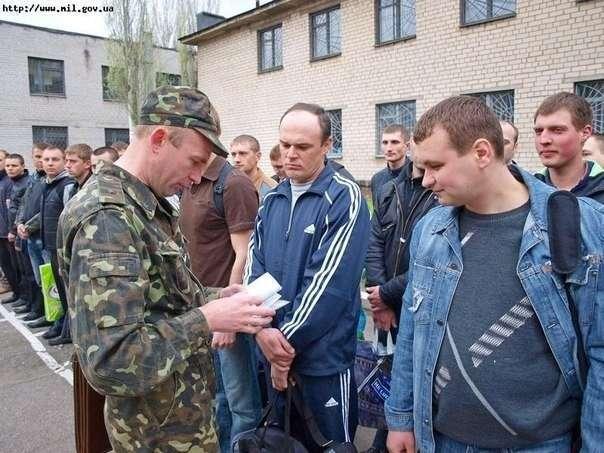 Резервисты в Днепропетровской области отказались подчиняться командирам