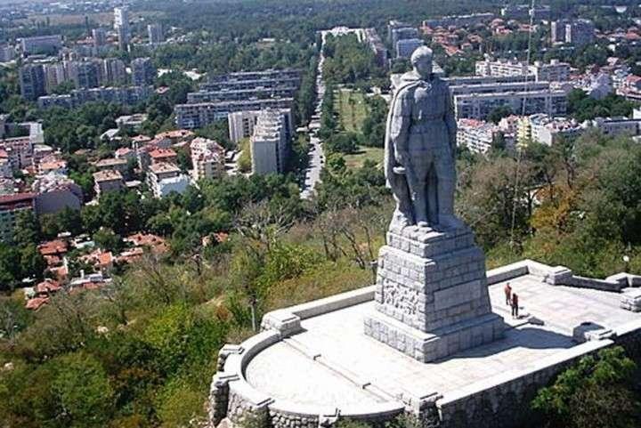Болгарии русский солдат