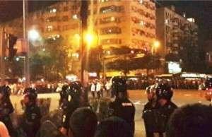 Македония протест