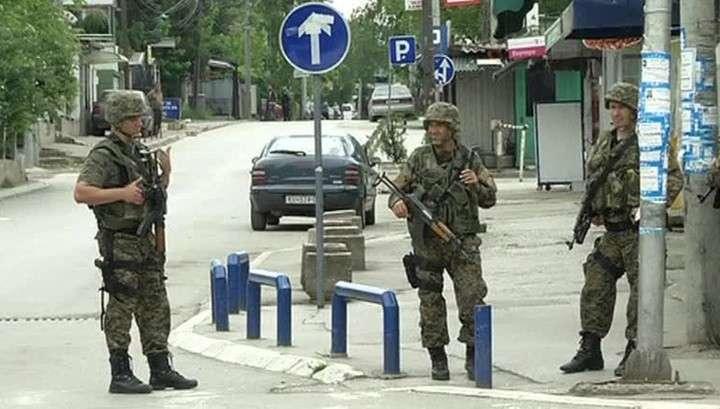 Албанские террористы попытались захватить город в Македонии