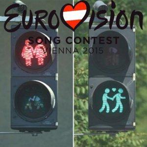 В Вене к «Евровидению» установили «гей-светофоры»