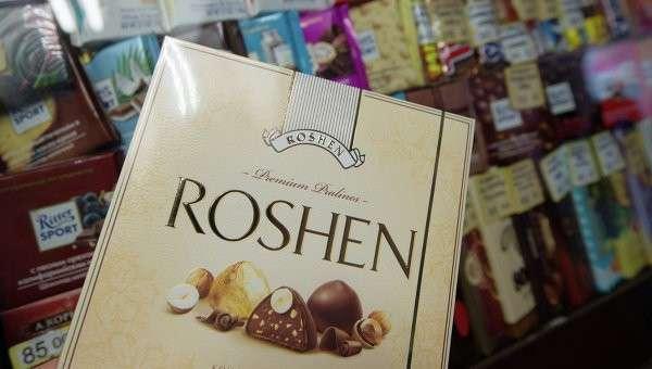 Украинский шоколад Рошен, Архивное фото.