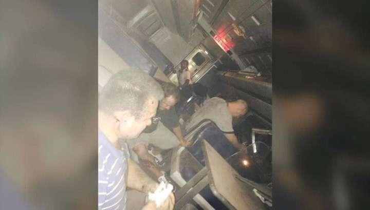 Пассажирский поезд сошёл с рельсов в США: 5 человек погибли, 140 пострадали