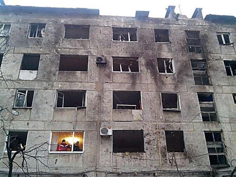 Укро-каратели начали наступление на Горловку