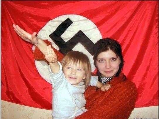 Женщина на фотографии – Вика Резниченко из города Киева, «где фашизма нет»