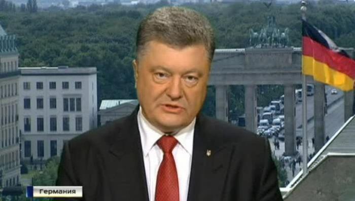 Немецкие журналисты поймали Порошенко на противоречиях