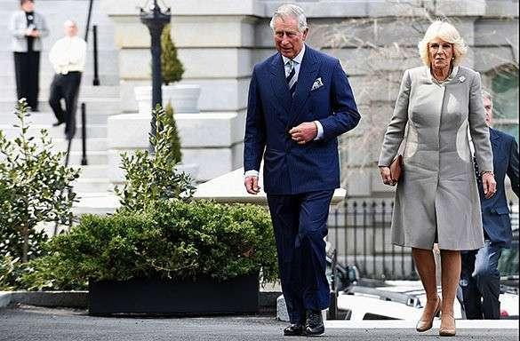 Полиция Ирландии предотвратила теракт против принца Чарльза. Принц Чарльз и Камилла
