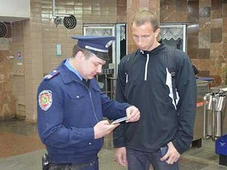 В Харькове в армию забирают прямо в метро