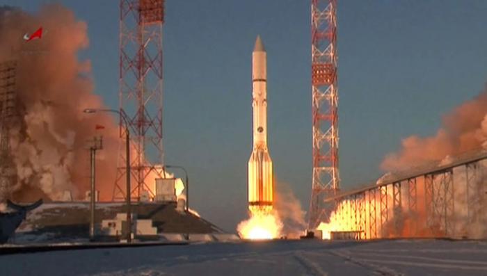 «Мексиканский спутник» упал вместе с 3-й ступенью Протона