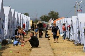 Укры из Донбасса приезжали летом в Крым за халявой