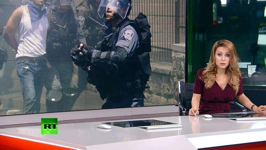 Полиция Израиля нападает на журналистов, а потом делает «морду ящиком»