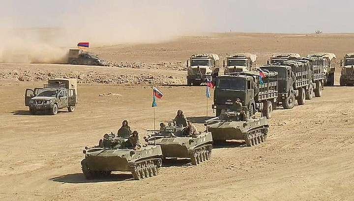 Учения сил ОДКБ в Таджикистане