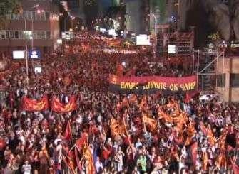 Македония: против майдана вышли 100 000 человек, но про них никто не пишет