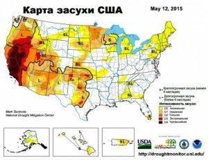 Самая сильная засуха за 1200 лет накрыла США