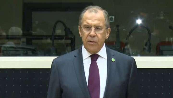 Сергей Лавров принял участие в переговорах с европейским кагалом в Брюсселе