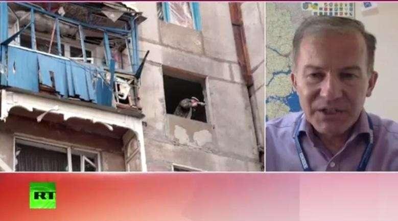 На востоке Украины снова ведутся обстрелы из установок «Град»