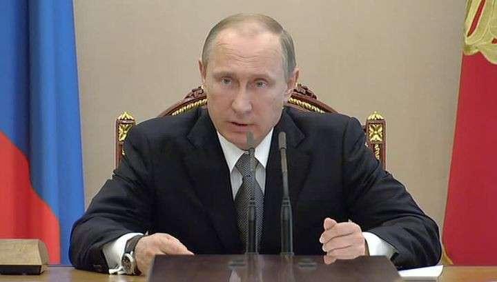 Владимир Путин прокомментировал украинский дефолт и ассоциацию с ЕС